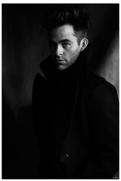 Chris Pine Stars in Moody Flaunt Cover Shoot