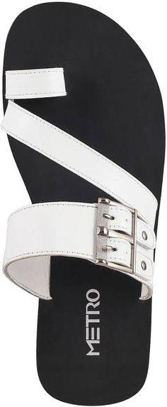 Metro Men White Sandals - Buy 16,White Color Metro Men White Sandals Online at Best Price - Shop Online for Footwears in India | Flipkart.com
