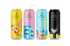 Miami Cocktail Co. on Packaging of the World - Creative Package Design Gallery