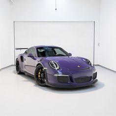 Porsche 991 GT3 RS painted in Ultraviolet Purple   Photo taken by: @matsbutlersphotograohy on Instagram