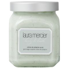 Laura Mercier Crème de Pistache Scrub, 300g (2,255 DOP) ❤ liked on Polyvore featuring beauty products, bath & body products, body cleansers, fillers, beauty, makeup and laura mercier