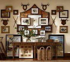 Wood Gallery Single Opening Frames | Pottery Barn // Ski lodge decor
