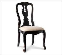 my kitchen chairs...Pottery Barn Queen Anne