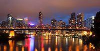 Night photography Brisbane under lights Photography Courses, Night Photography, Cattle Farming, Famous Places, After Dark, Continents, Brisbane, Dusk, New York Skyline