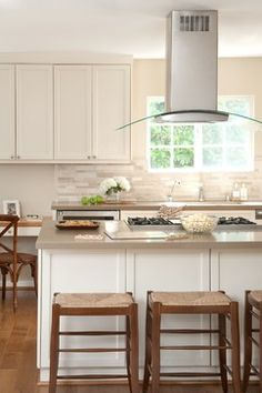 Caesarstone haze kitchen pinterest home los angeles for Atrium white kitchen cabinets