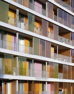 gigon guyer architekten: wohnüberbauung brunnenhof, zürich (2007)
