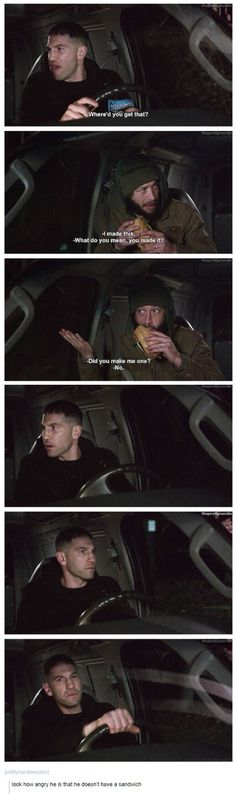 This scene was hilarious