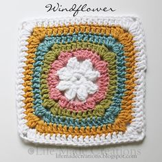 Windflower by Beverly Button - Pattern in Ravelry <3