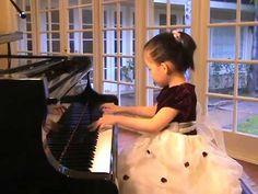 Tiffany Koo (Age 5) - Chopin Nocturne #20 C Sharp Minor