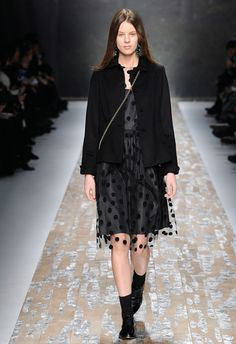 Polka Dot Party - Blugirl Fall Winter 2013/2014 Fashion Show Collection #mfw