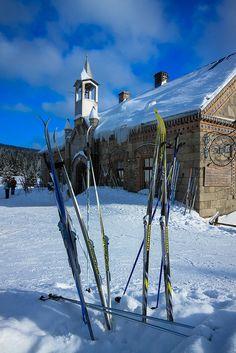 Jakuszyce, the biggest cross country ski resort in Poland.