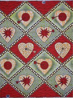 Vlisco fabrics, Queen of Hearts