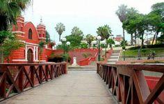 Puente de los suspiros, Barranco, Lima, PERU