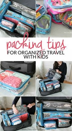 travel packing Come learn how to stay organized when traveling with kids. Im sharing my favorite practical tips, tricks, and products for organized traveling and keeping all of the kids things tidy without losing your mind! Road Trip With Kids, Travel With Kids, Family Travel, Travel Tips With Toddlers, Travelling With Toddlers, Kids Travel Bed, Baby Travel, Family Road Trips, Disney Travel