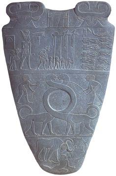 Tavolozza di Narmer - recto