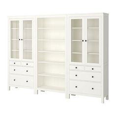 HEMNES  Opbevaringskombination, hvid @ IKEA