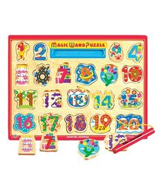 Look what I found on #zulily! Numbers Magic Wand Puzzle #zulilyfinds