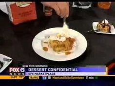 Caramel Bread Pudding with Whiskey Sauce - get the easy recipe from GFS Marketplace!