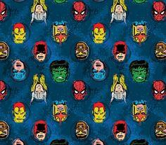Tela FQ :: Marvel Comic II characters :: de nosgustanlosretros por DaWanda.com