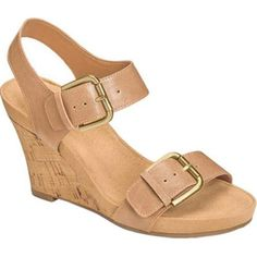Women's Aerosoles Mega Plush Wedge Sandal Faux (US Women's M (Regular))