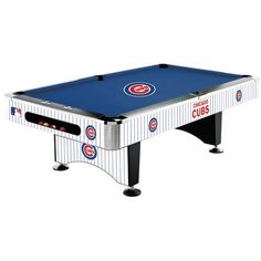 Chicago Cubs Pool Table   8 Foot With Logo Cloth   Http://pooltabletoday