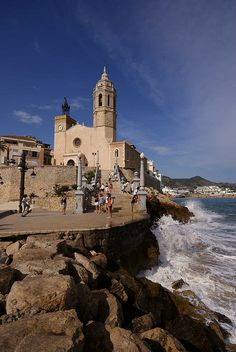 Sitges, Catalonia.(every year this village puts on a gay pride week-L)