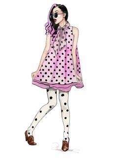 fashion illustration by tracy hetzel