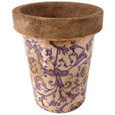 Aged Ceramic Pot