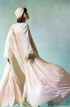 Susan Moncur by David Montgomery. Vogue UK 1970s
