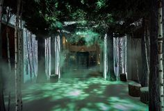 Jony Ive and Marc Newson create room-size interpretation of a Christmas tree