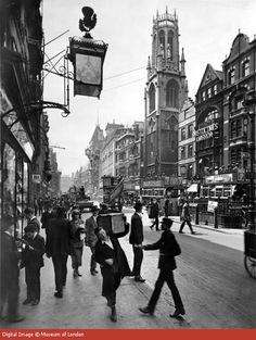Fleet Street, 1920s.