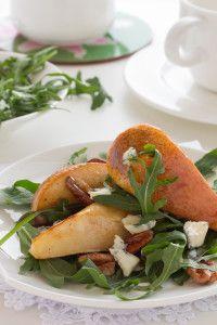 Tasty Nut and Pear Salad