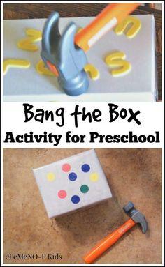 Fun activity for preschoolers