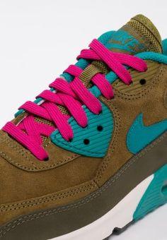 Pedir Nike Sportswear AIR MAX 90 - Zapatillas - dark loden/radiant emerald/military green por 93,95 € (19/12/15) en Zalando.es, con gastos de envío gratuitos.