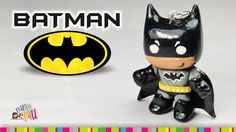 Batman polymer clay tutorial / Batman de arcilla polimérica