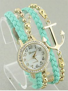 Reloj color menta
