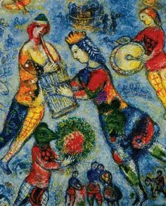 The music by Marc Chagall