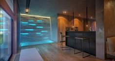 Spa Loft by Ivan Zhurba, via Behance