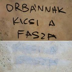 Megpróbálták lemosni a gyalázatot. #csudapest #budapest #hétker #welovebudapest #budapestagram #hungary #momentsinbudapest #mindekozben #cenzúra