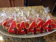Birthday Cookies #tutuscupcakery Birthday Cookies, Goodies, Sweet Like Candy, Gummi Candy, Birthday Brownies