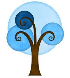 Brittany's SVG Files - Retro Tree