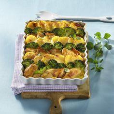Kartoffel-Hähnchen-Auflauf mit Broccoli Rezept | LECKER
