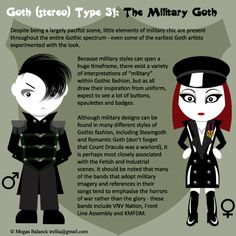 Gothic Style: Steampunk vs. Military | Queen of Darkness