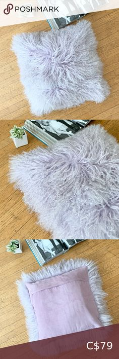 I just added this listing on Poshmark: Pillow Decor LTD Lilac Mongolian Lamb Fur Pillow. #shopmycloset #poshmark #fashion #shopping #style #forsale #Pillow Decor Ltd #Other Yellow Pillow Covers, Coral Throw Pillows, Gold Pillows, Floral Pillows, Throw Cushions, Throw Pillow Cases, Decorative Pillow Covers, Accent Pillows, Fur Pillow