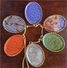 Handpainted pendants