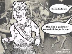 Bloco dos Sujos 2013 - Governo Catarinense Sambando
