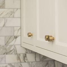 Hex Knob  Natural Brass  Kitchen Cabinet Knobs Natural And Classy Knobs For Kitchen Cabinets Decorating Design