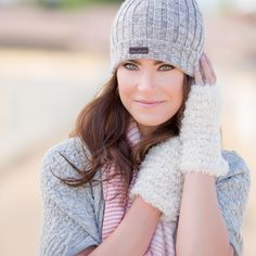 You'll adore this 100% super soft hat made from baby alpaca fibers, perfect for chilly days, him or her.  https://www.thealpacagroupnw.com/product/alpaca-lacre-hatbeanie