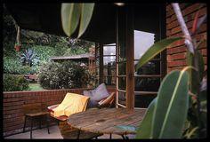 Sidney Bazett House.1939. Usonian Style. Hillsborough (Near San Francisco) California. Frank Lloyd Wright.