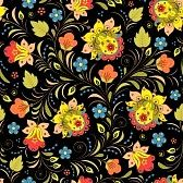 traditionnel russe : illustration de seamless pattern with traditionnelle…